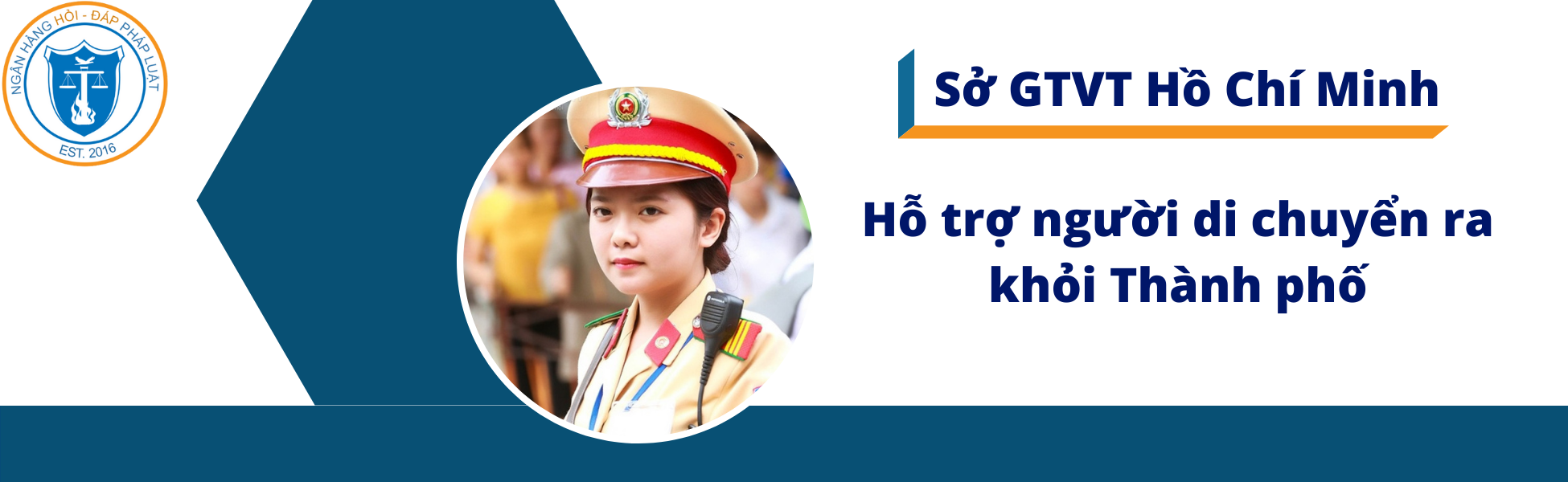Đối tượng được Sở Giao thông vận tải Thành phố Hồ Chí Minh hỗ trợ di chuyển ra khỏi Thành phố