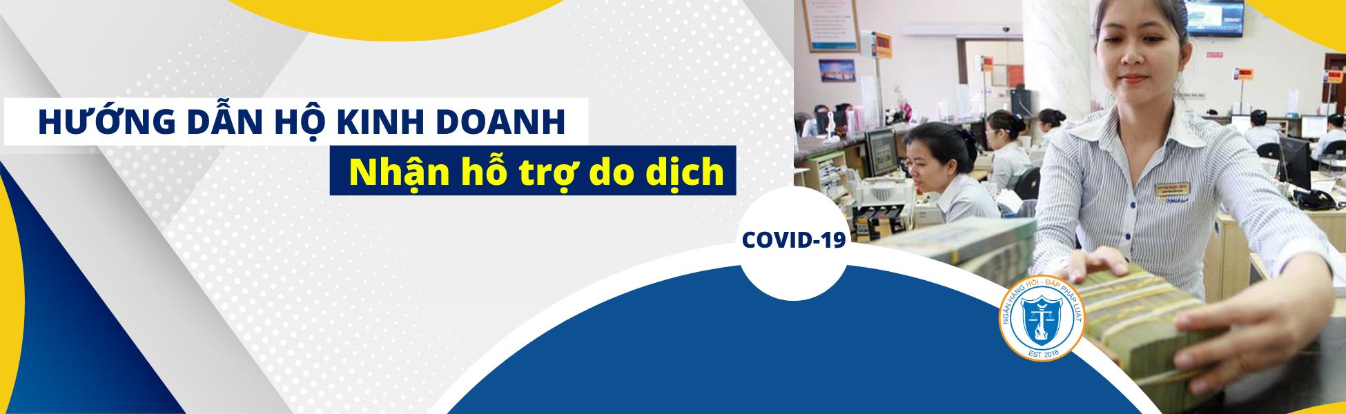 Hướng dẫn Hộ kinh doanh nhận hỗ trợ do dịch COVID-19