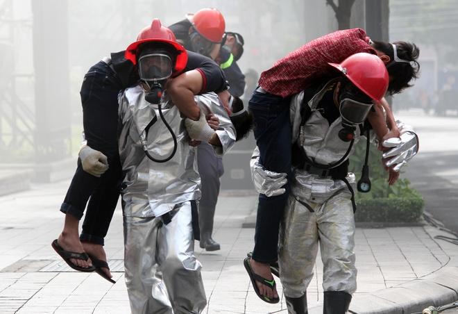 Kế hoạch thực hiện công tác cứu nạn, cứu hộ của lực lượng phòng cháy, chữa cháy gồm các nội dung nào?