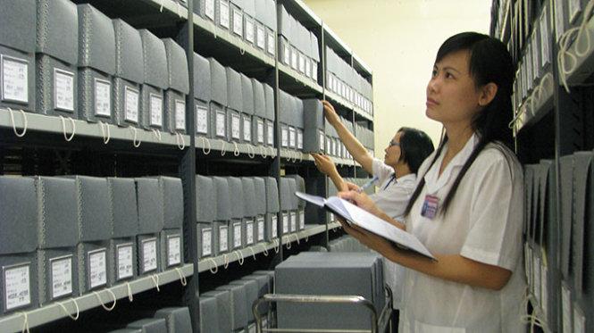 Hồ sơ thiết kế xây dựng công trình nộp lưu tài liệu vào Lưu trữ lịch sử