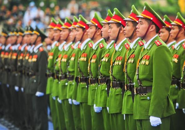 Chủ trì tổ chức lễ tang cấp cao đối với cán bộ đương chức trong lực lượng Công an nhân dân