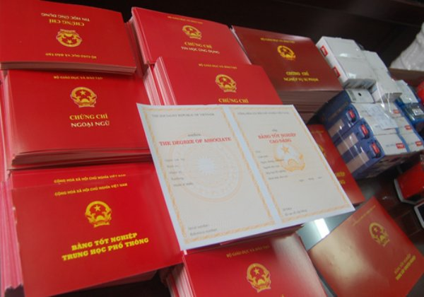 Nguyên tắc quản lý, cấp phát văn bằng, chứng chỉ  của hệ thống giáo dục quốc dân
