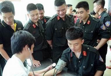 Cấp lại, đổi thẻ bảo hiểm y tế cho sĩ quan, quân nhân chuyên nghiệp và hạ sĩ quan, binh sĩ đang tại ngũ