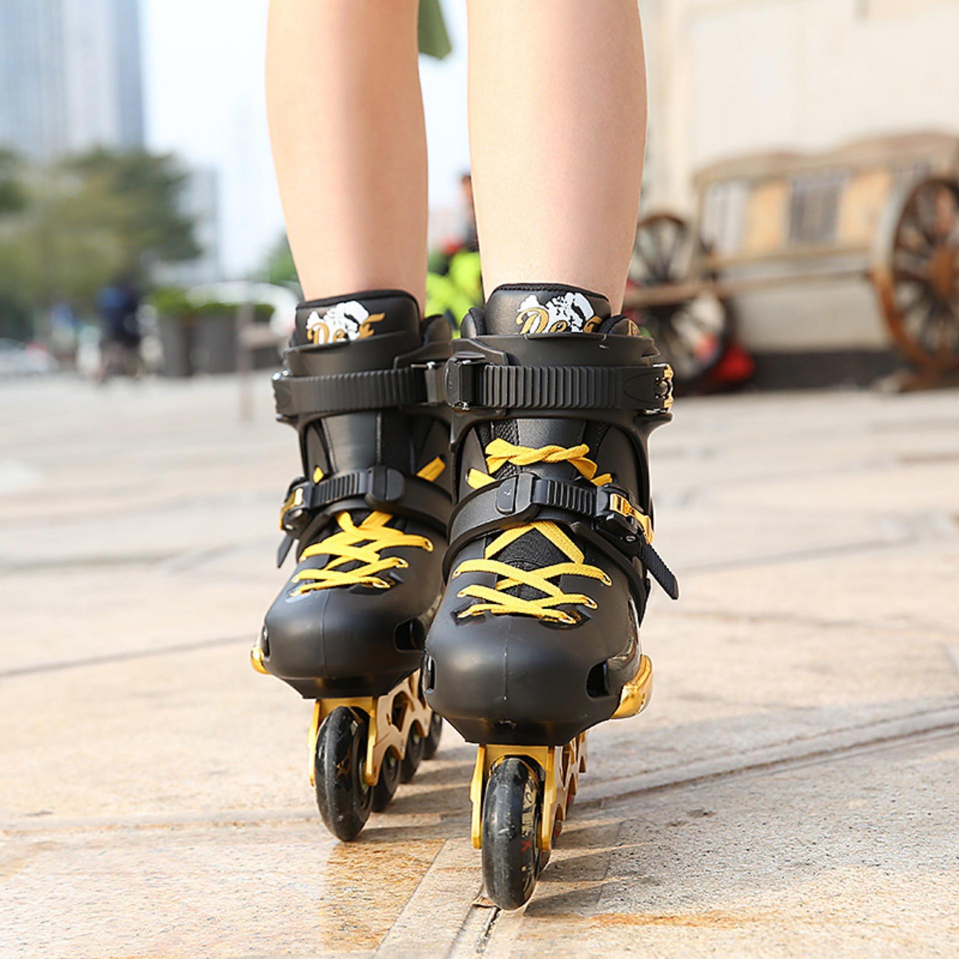 Trượt patin bám vào phương tiện đang lưu thông bị phạt bao nhiêu?