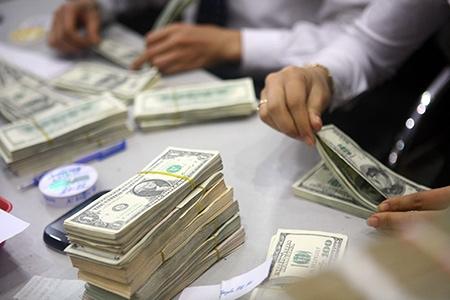 Các giao dịch thu trên tài khoản vốn đầu tư trực tiếp bằng ngoại tệ