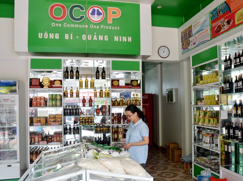 Tiêu chí bắt buộc biển hiệu/biểu tượng cho điểm giới thiệu và bán sản phẩm OCOP