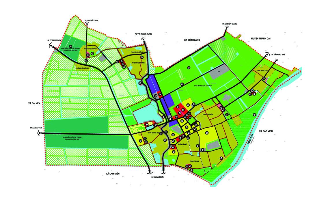 Quy hoạch xây dựng điểm dân cư nông thôn phải đảm bảo các yêu cầu nào?