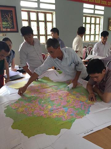 Thủ tục cung cấp thông tin đo đạc và bản đồ