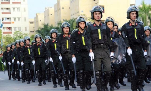 Cảnh sát cơ động gồm những lực lượng nào?