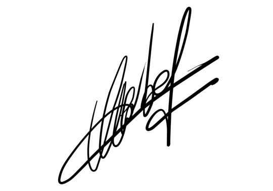 Chữ ký trong Bản cáo bạch được quy định như thế nào?