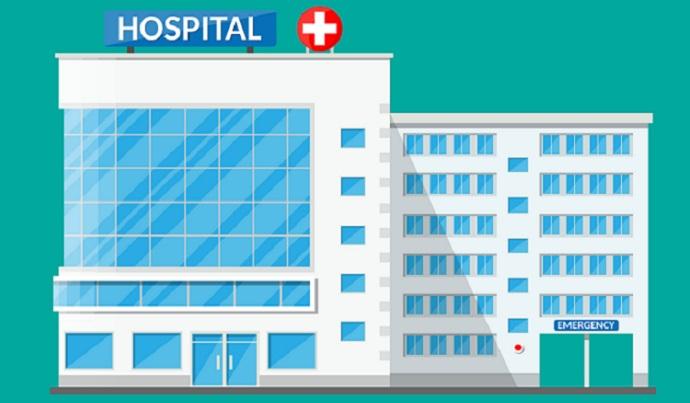 Diện tích tối thiểu của một số phòng chức năng trong bệnh viện quận, huyện là bao nhiêu?