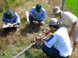 Kết thúc quá trình kiểm tra phải tiến hành ghi nhận kết quả kiểm tra trong lĩnh vực quản lý đất đai