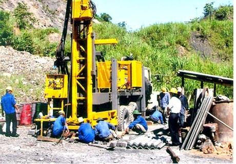 Công tác trắc địa trên mặt đất trong hoạt động thăm dò khoáng sản