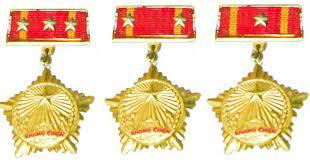 """Mức tiền thưởng """"Huy chương Chiến sĩ vẻ vang"""" các hạng là khác nhau?"""