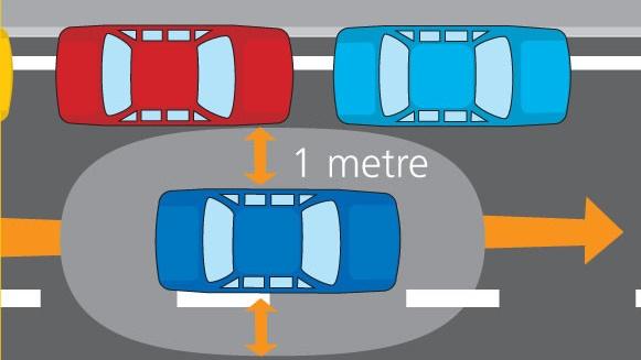 Không giữ khoảng cách an toàn bị phạt như thế nào?