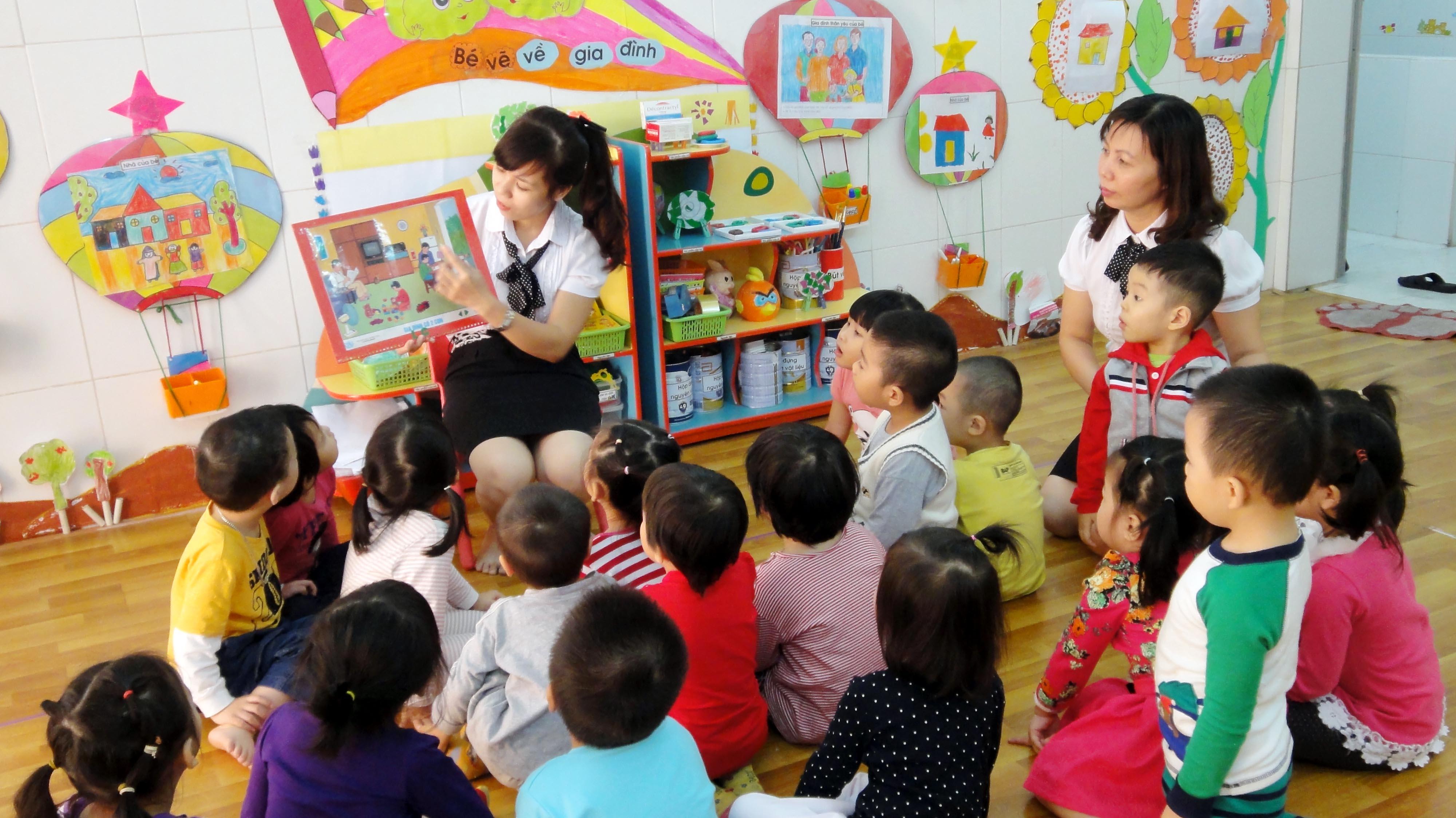Vị trí của nhà trường, nhà trẻ, nhóm trẻ, lớp mẫu giáo độc lập tư thục