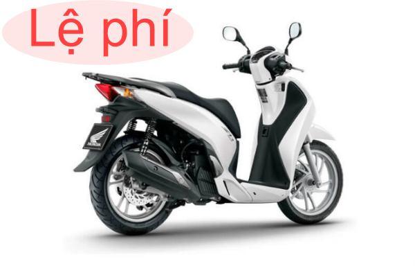 Phải nộp lệ phí trước bạ bao nhiêu khi mua xe máy trên 50cc?