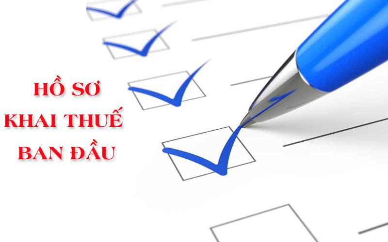 Thay đổi thông tin về nghĩa vụ nộp hồ sơ khai thuế