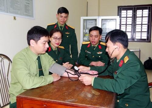 Thanh toán chi phí khám bệnh, chữa bệnh bảo hiểm y tế của quân nhân và người làm công tác cơ yếu