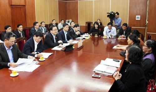 Xử lý nội dung đơn thư khi tiếp đảng viên, công dân tại Ủy ban Kiểm tra Trung ương