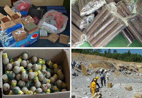 Thủ tục cấp Giấy phép xuất khẩu vật liệu nổ công nghiệp