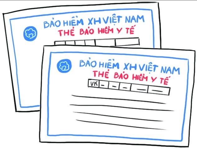 Thông tin in trên phôi thẻ bảo hiểm y tế khi phát hành cho người sử dụng bao gồm những thông tin nào?