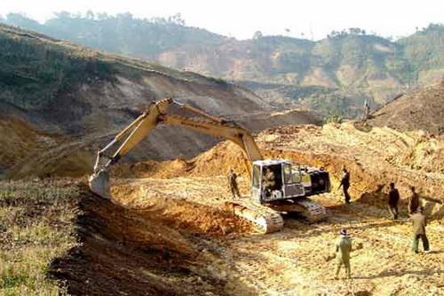 Các khu vực cấm hoạt động khoáng sản