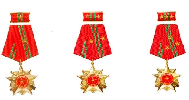 Huân chương Quân công hạng nhì cấp cho đối tượng nào?
