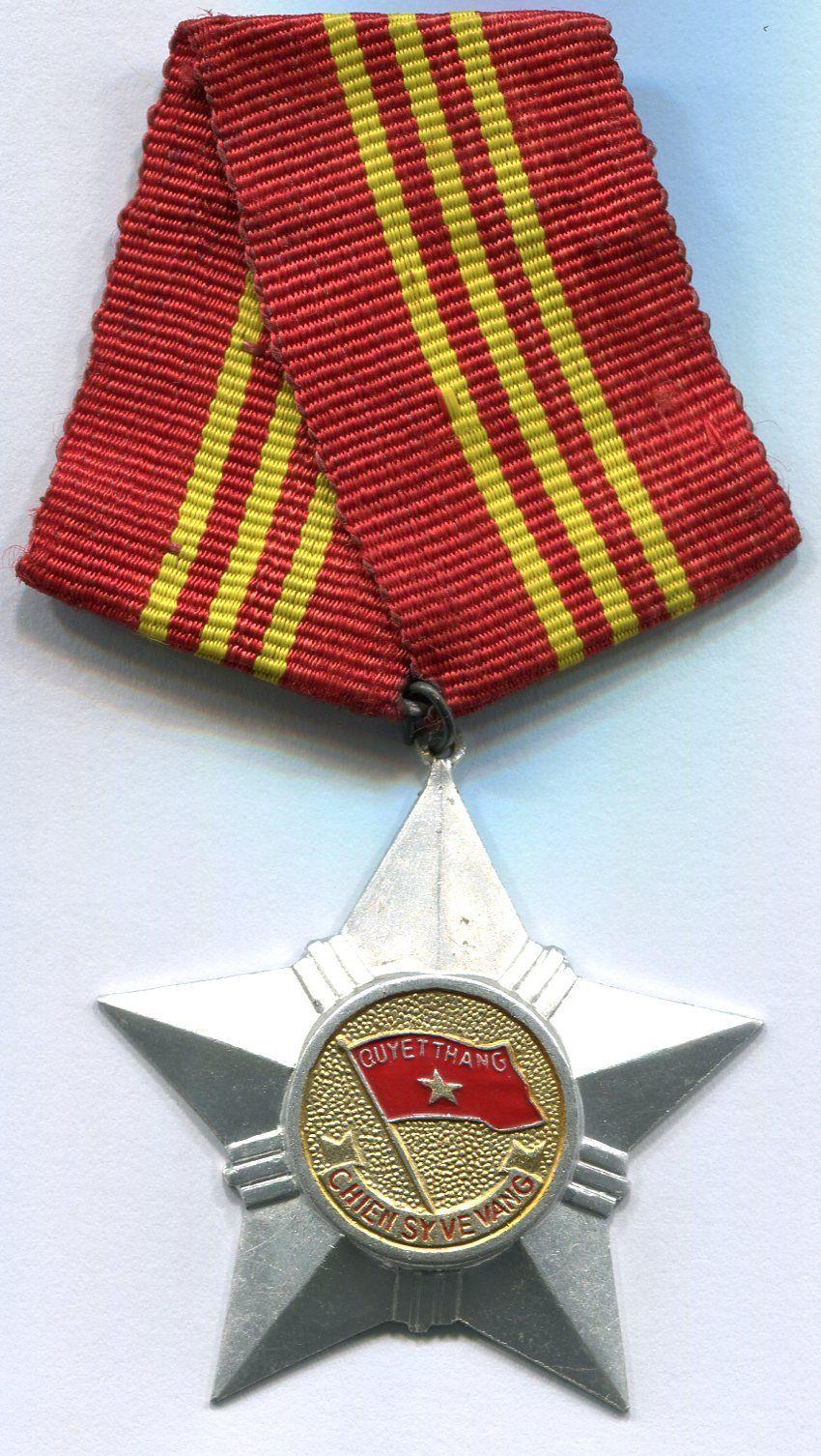 Thủ tục xét tặng Huy chương Chiến sĩ vẻ vang