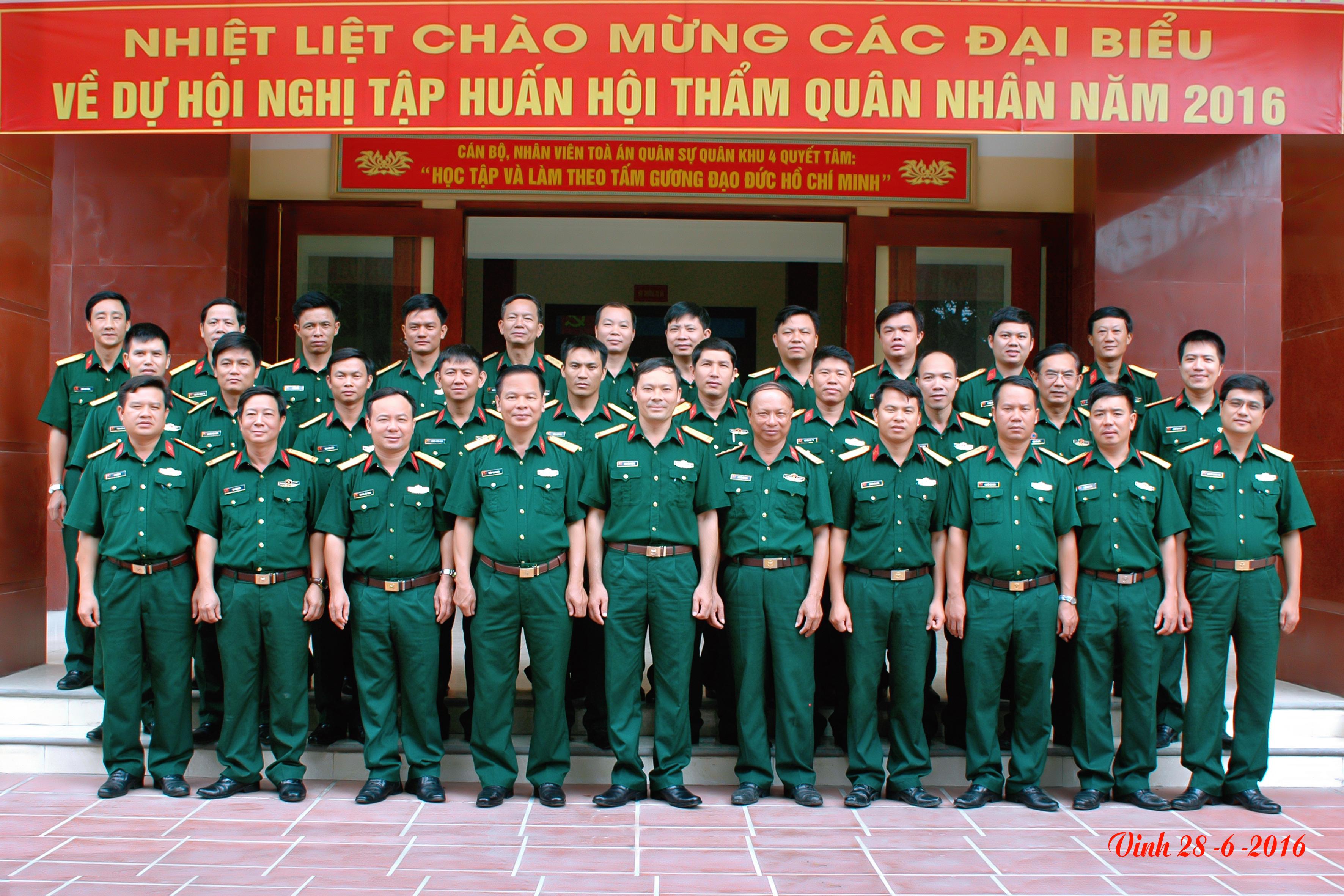 Tổ chức Đoàn Hội thẩm quân nhân được quy định như thế nào?