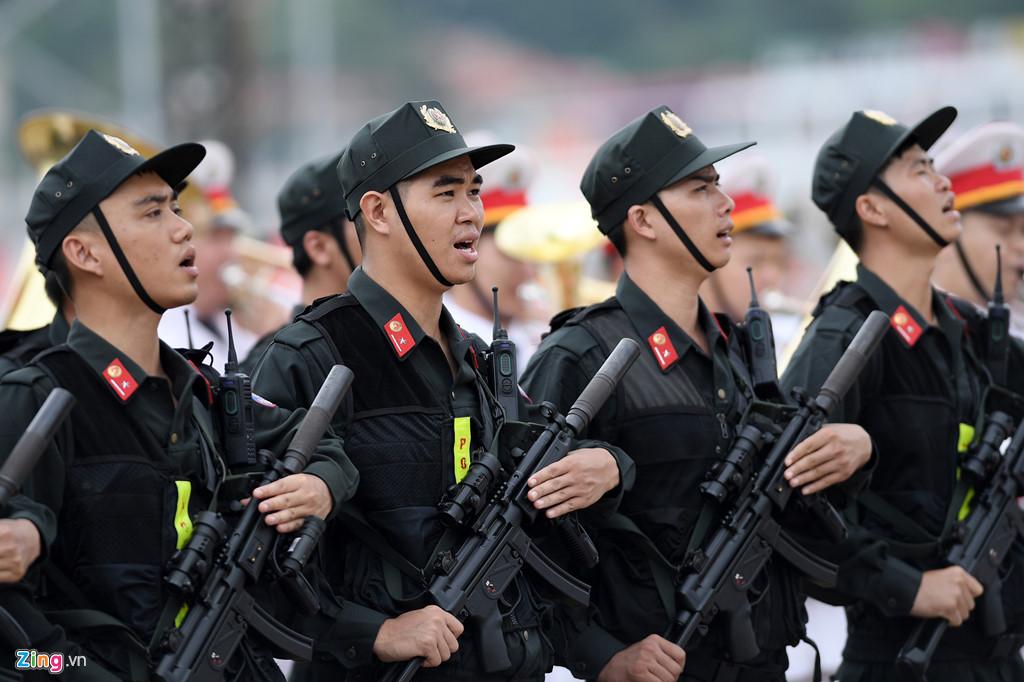 Cảnh sát cơ động là lực lượng nào?