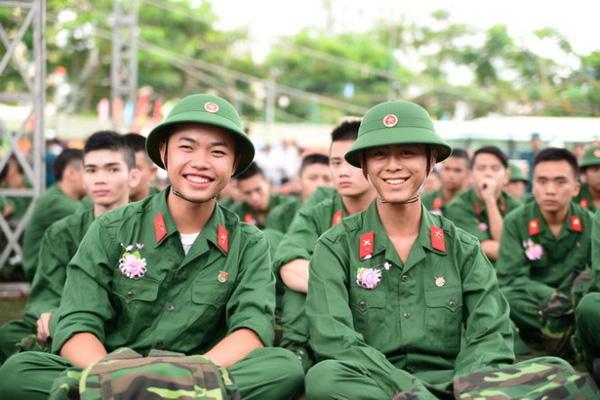 Thời gian nhập ngũ nghĩa vụ quân sự năm 2020