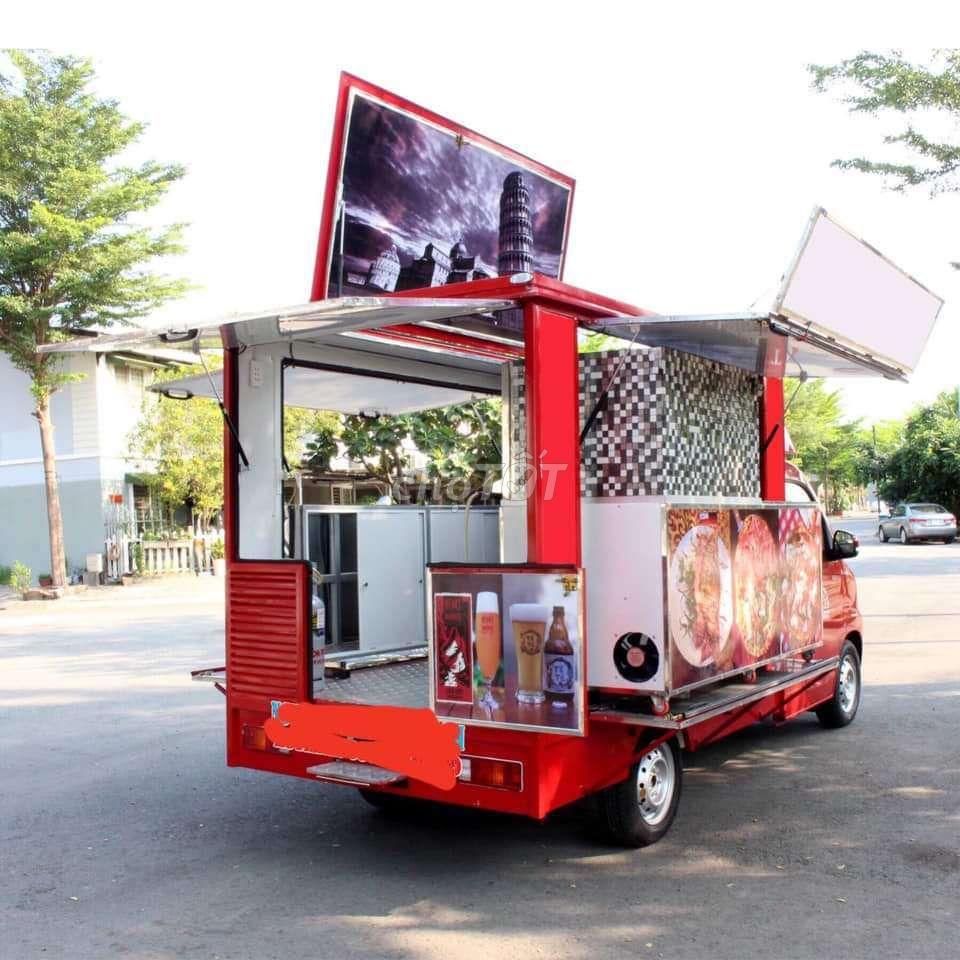 Bán đồ ăn nhanh trên xe tải nhẹ thì có cần đăng ký kinh doanh không?