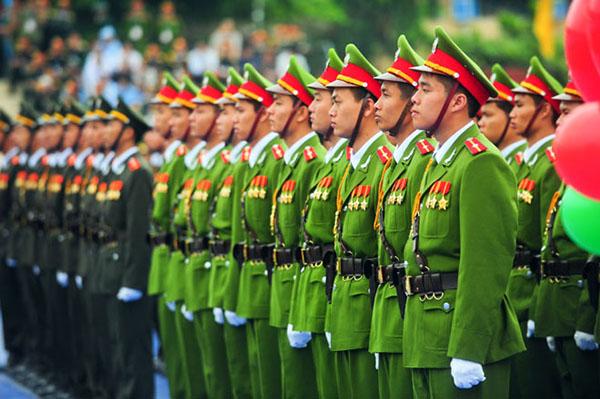 Thời hạn xét thăng cấp bậc hàm của chiến sĩ Công an nhân dân