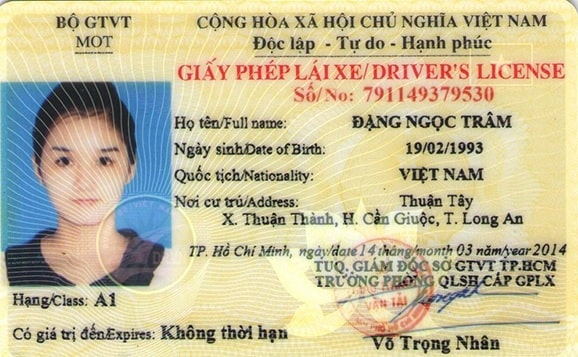 Có được xin cấp lại hồ sơ gốc giấy phép lái xe hạng A1 không?