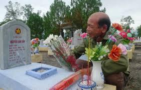 Mức hỗ trợ khi thân nhân đi thăm viếng mộ liệt sĩ