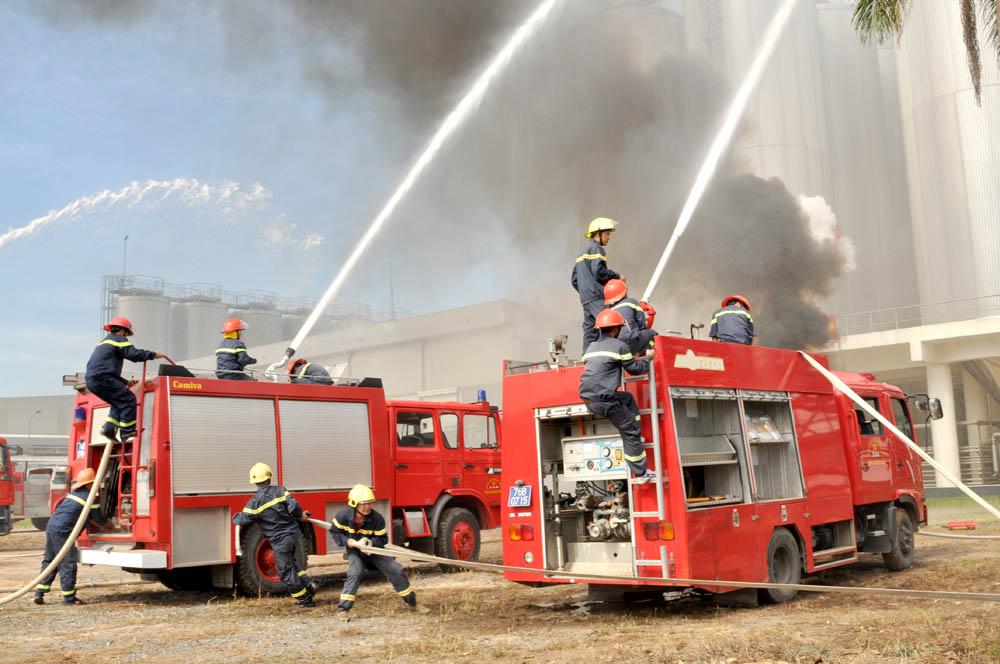 Các thiết bị phòng cháy chữa cháy khi xuất nhập khẩu không phải kiểm tra chuyên ngành