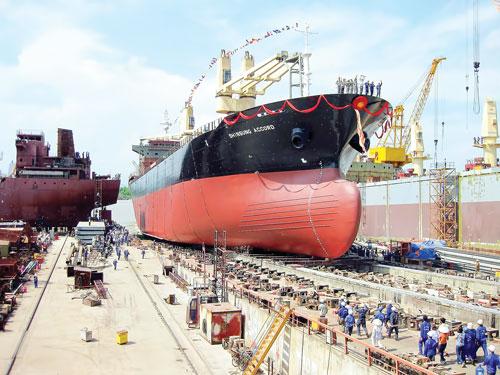 Yêu cầu về cơ sở vật chất và trang thiết bị cơ sở đóng mới, hoán cải tàu biển từ 31/3/2020?