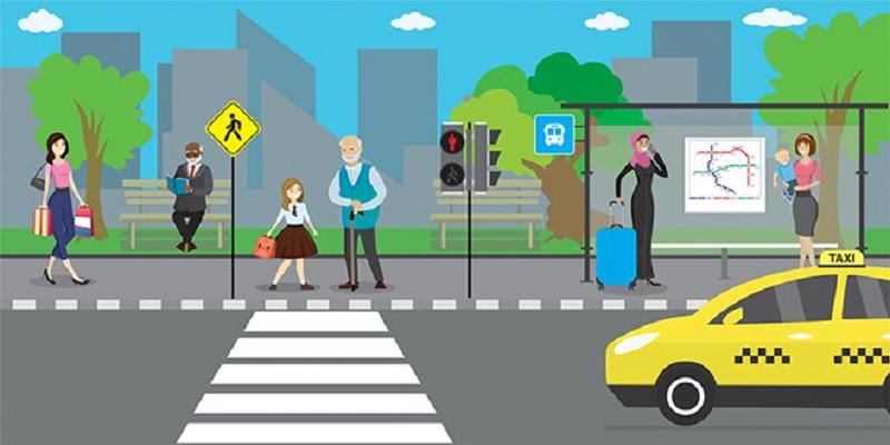 Có được dừng xe, đỗ xe trên phần đường dành cho người đi bộ qua đường hay không?