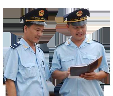 Trang phục chống rét của hải quan