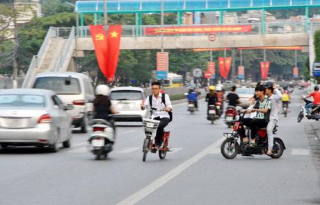 Xe đạp đi ngược chiều có bị xử phạt không?