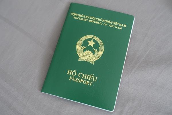 Quy cách, kỹ thuật chung của hộ chiếu