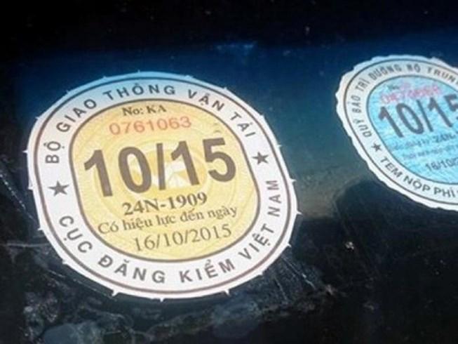 Giấy chứng nhận kiểm định và Tem kiểm định đối với phương tiện giao thông hết hiệu lực khi nào?