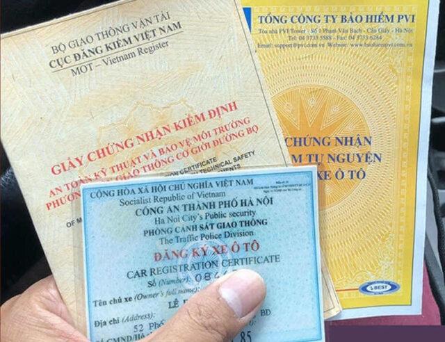 Thời hạn làm lại giấy đăng ký xe bị mất là bao nhiêu ngày?