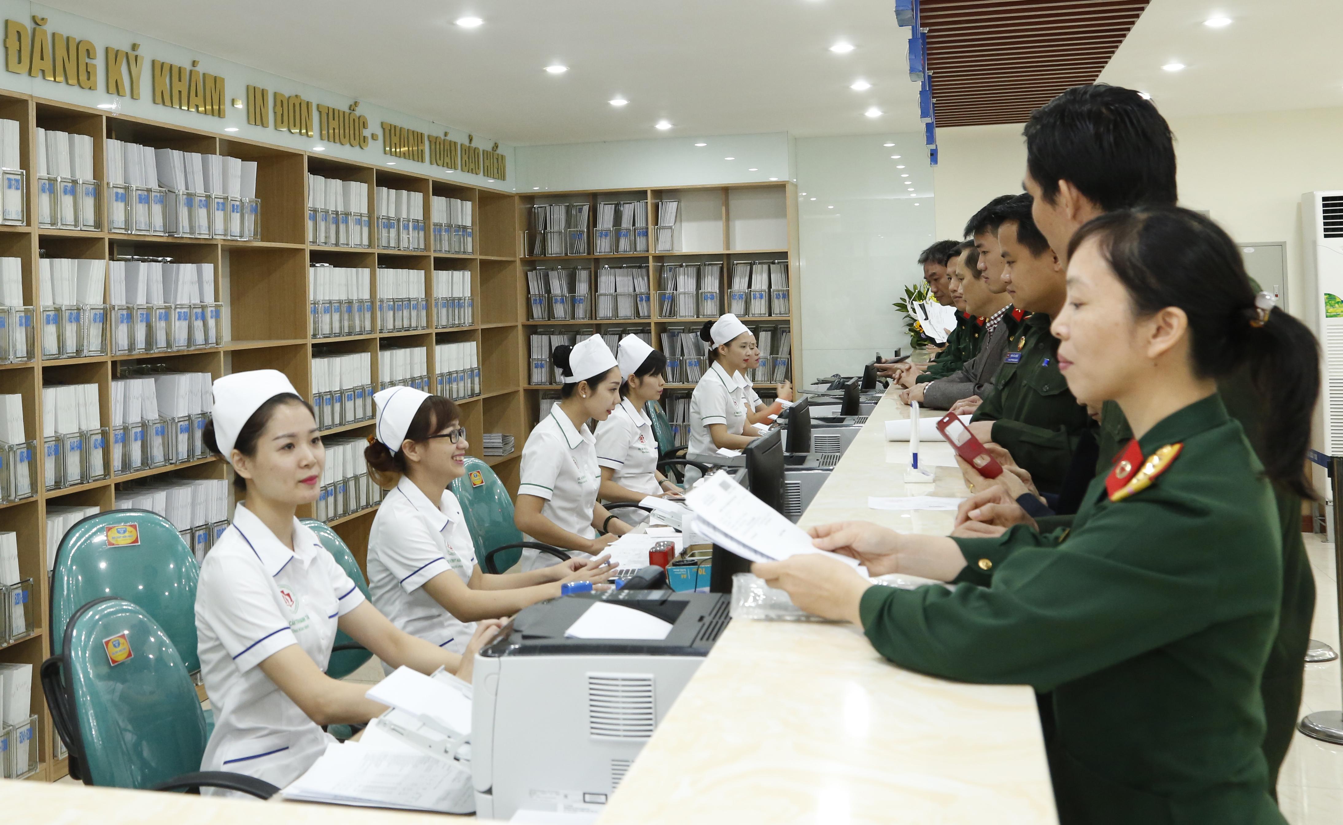 Chế độ BHYT cho quân nhân chuyên nghiệp phục viên