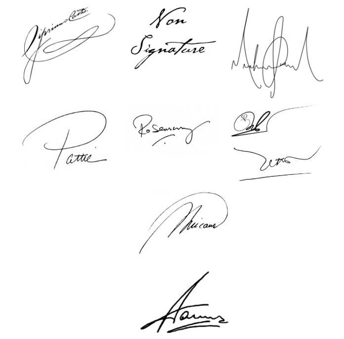 Giả mạo chữ ký bị xử phạt thế nào?