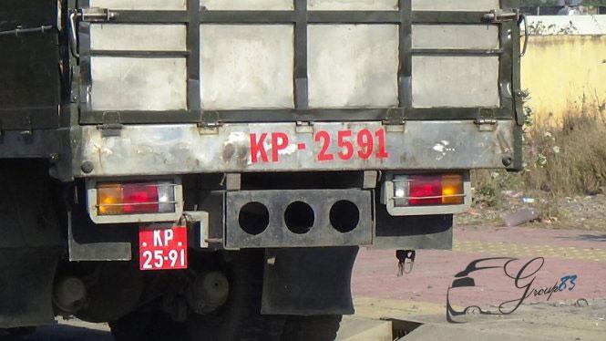Thủ tục đăng ký xe quân đội làm nhiệm vụ quốc phòng có yêu cầu cấp biển số xe dân sự