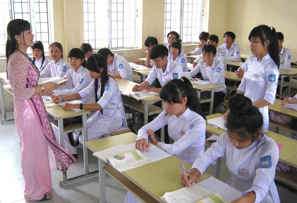 Mã số và phân hạng chức danh nghề nghiệp giáo viên trung học cơ sở