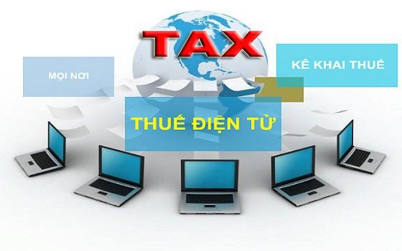 Quy định về nộp thuế điện tử