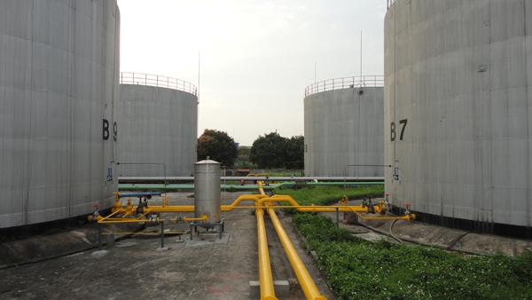 Bể chứa nhiên liệu hàng không